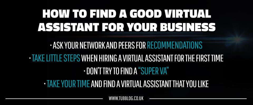 How to find a virtual assistant for your business | Richard Tubb