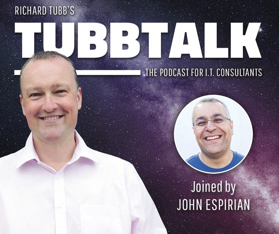 TubbTalk 53 - John Espirian on LinkedIn for MSPs