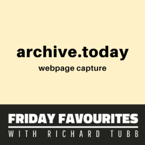 Archive Today - A Time Capsule for Web Pages